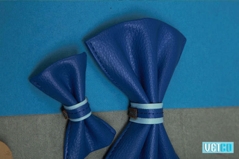 We Exist Tickle Me Blue Bow Tie