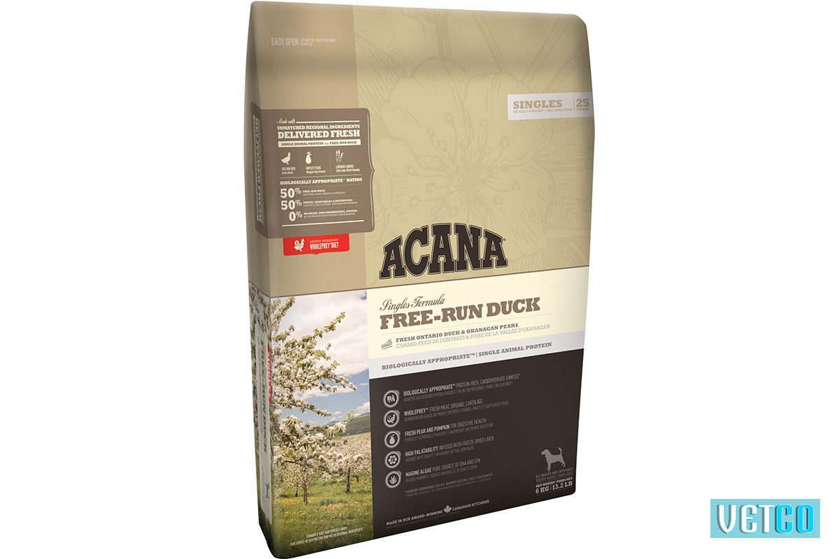 Acana Free-Run Duck Dog Food (All Breeds & Sizes)