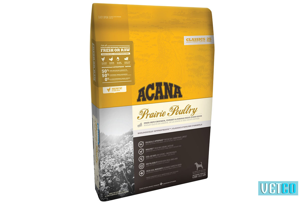 Acana Prairie Poultry Dry Dog Food (All Breeds & Sizes)