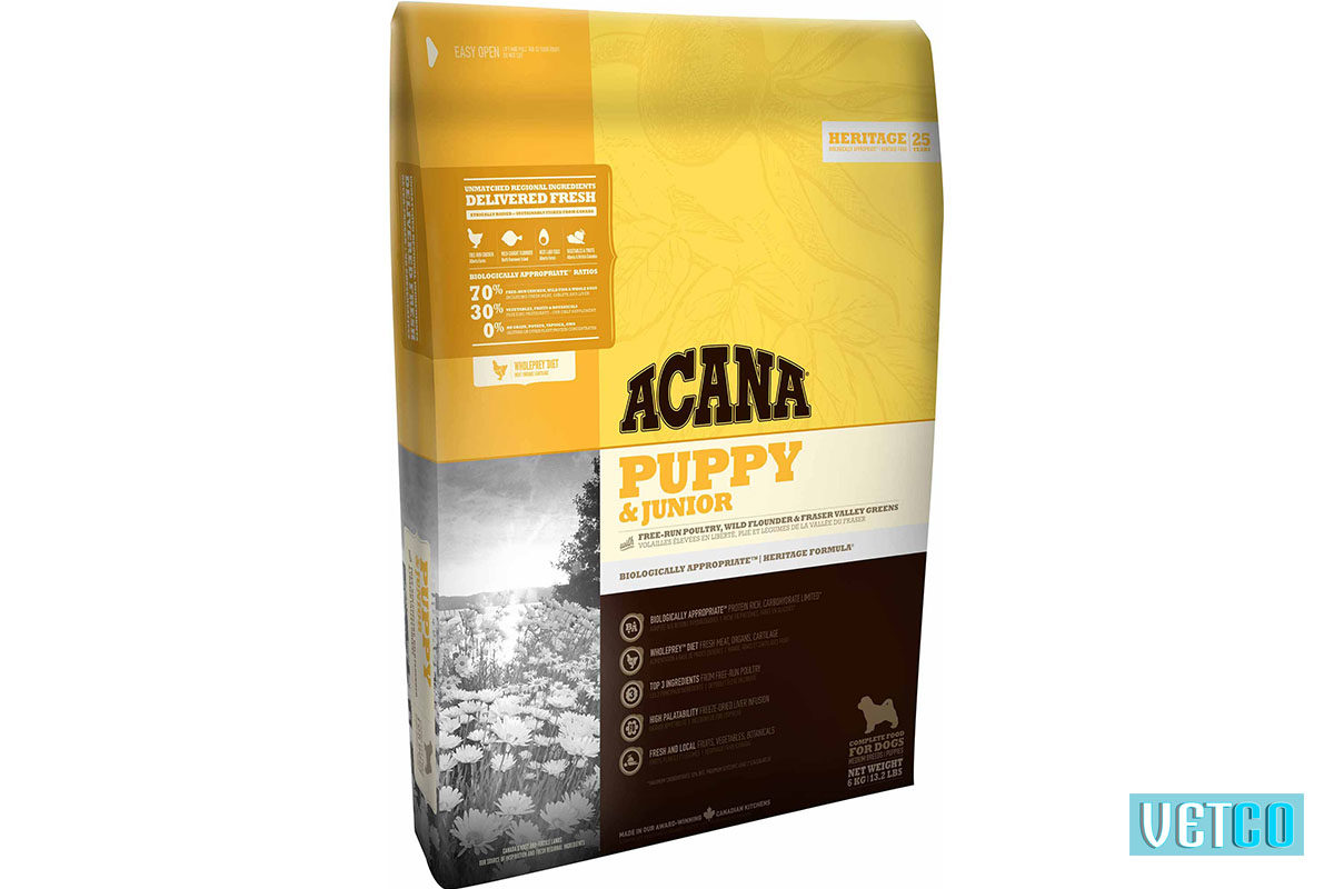 Acana Puppy and Junior Dry Dog Food (Medium Breeds)