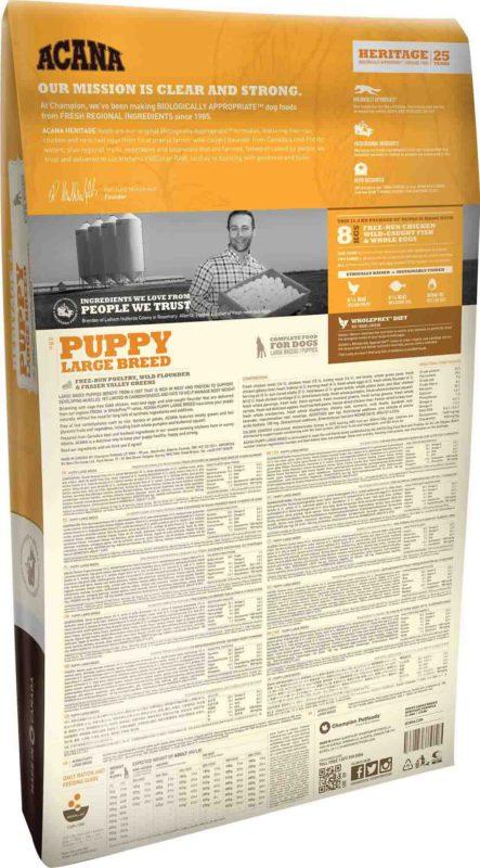 Acana Puppy Dry Dog Food (Large & Giant Breeds)