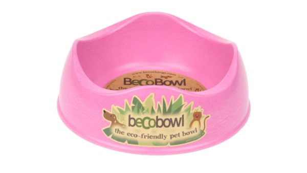 Beco Pets Eco Friendly Dog Bowl - Pink