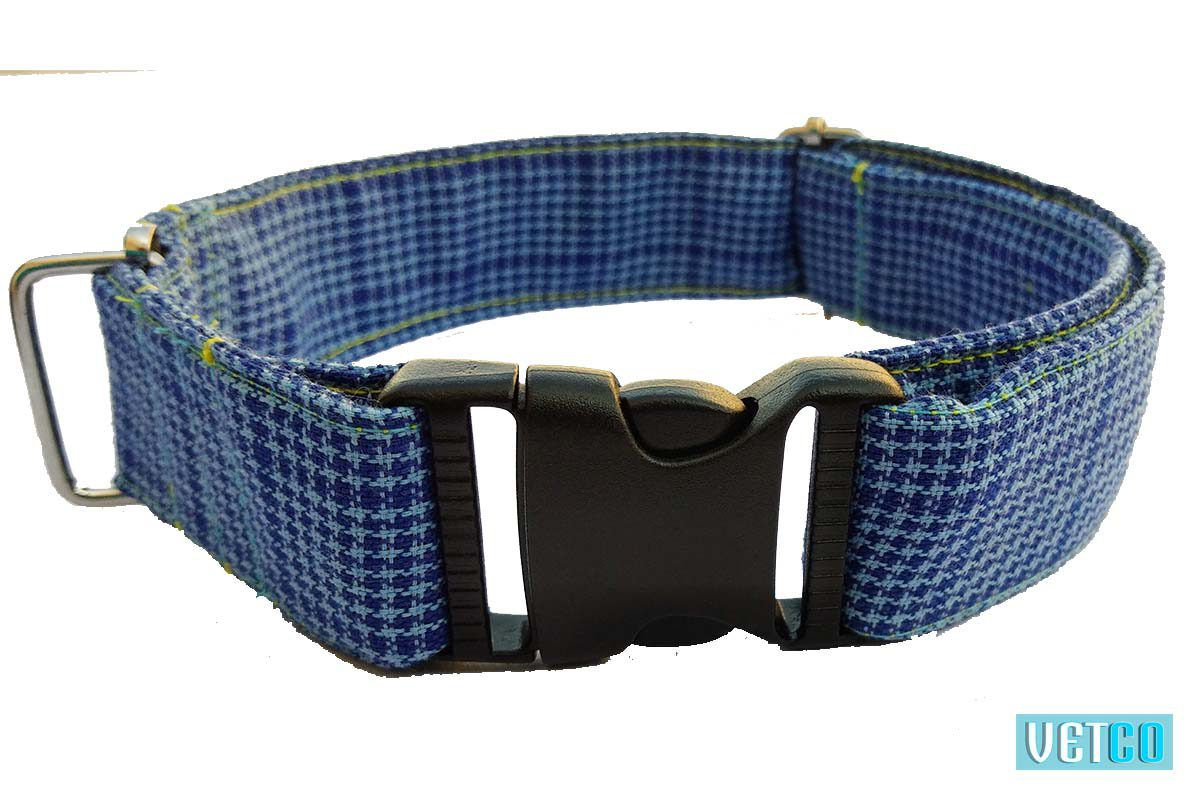 Hazel n Co Blue Lagoon Dog Collar