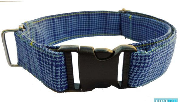 Hazel n Co Blue Lagoon Dog Collar