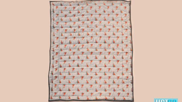We Exist Curious Fox Reversible Quilt