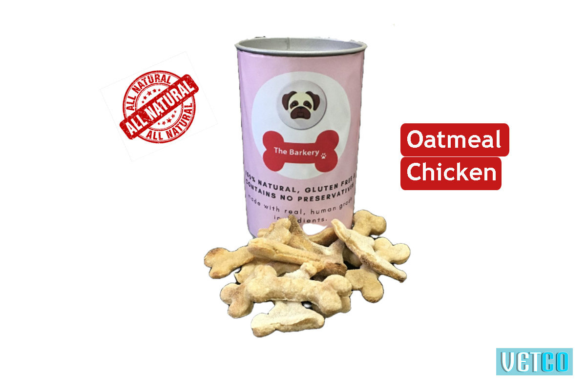 the barkery oatmeal chicken