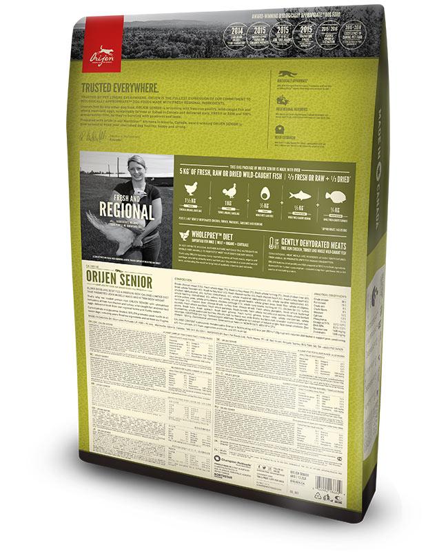 Origen Senior Dry Dog Food (All Breeds & Sizes)