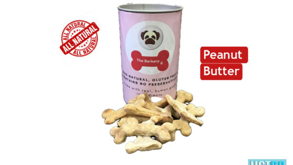the barkery peanut butter dog biscuits