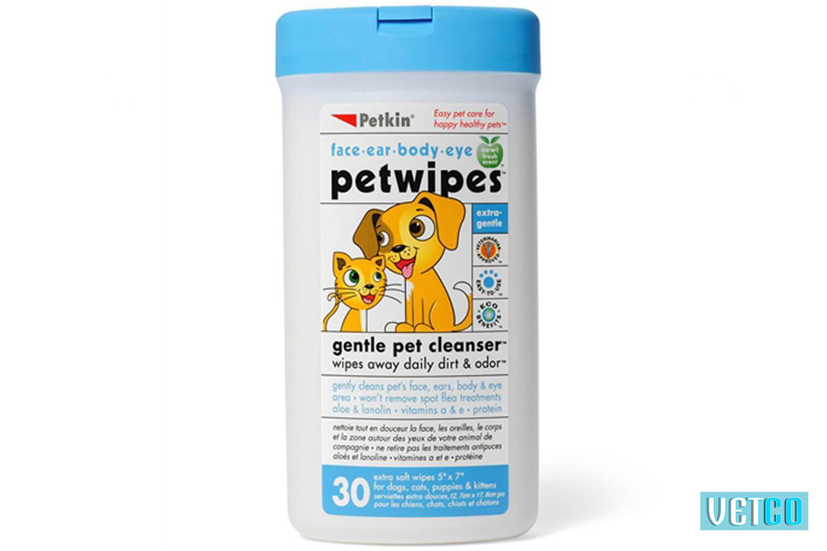 petkin pet wipes 30