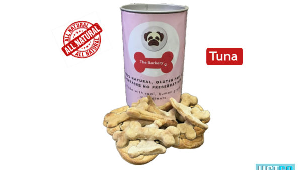 the barkery tuna dog biscuits