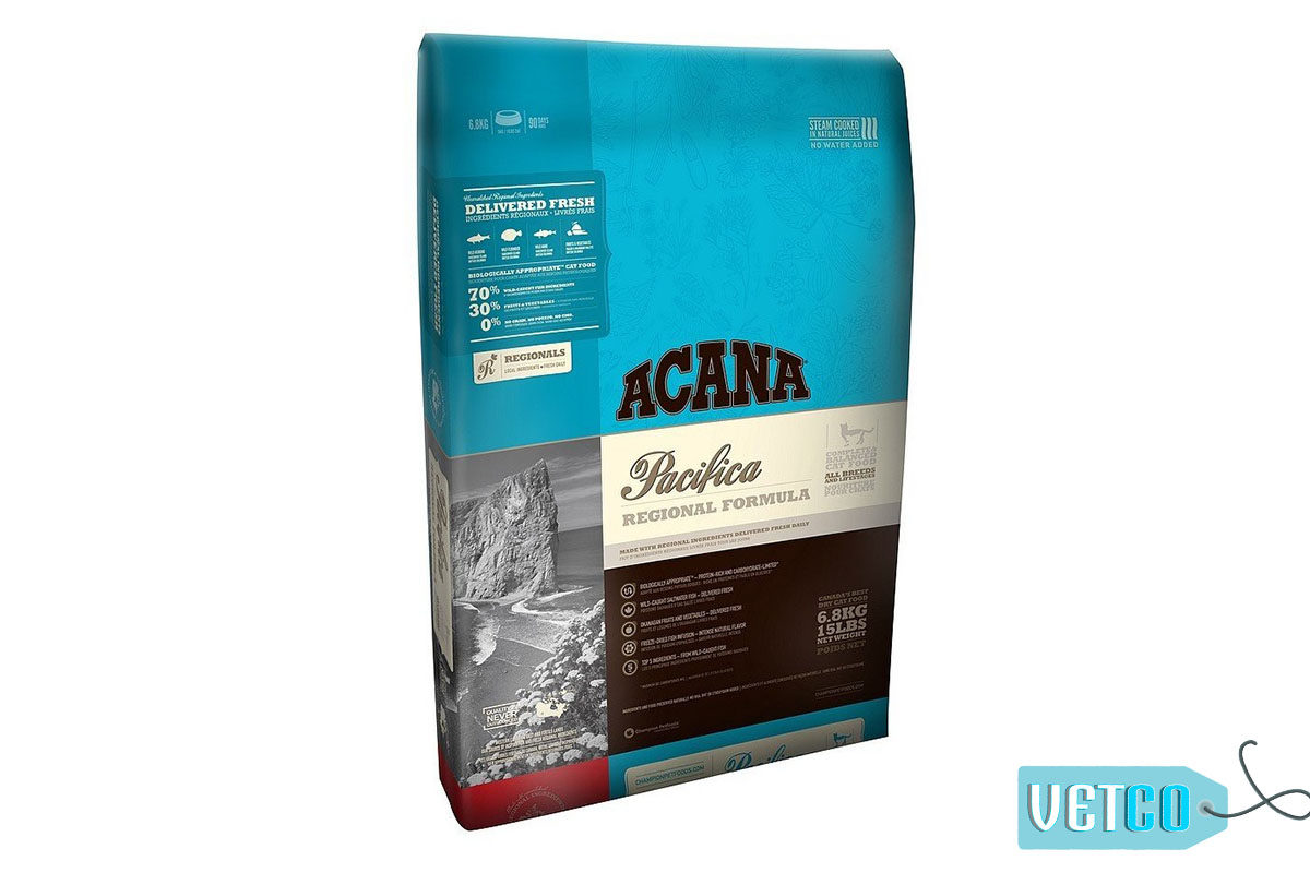 Acana Pacifica Cat & Kitten Dry Food (All Breeds & Life Stages)