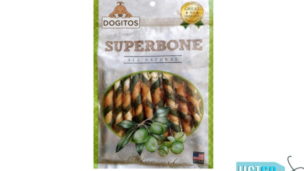 Dogitos Superbone Chicken Stick with Olive Oil Dog Treat, 185 gms