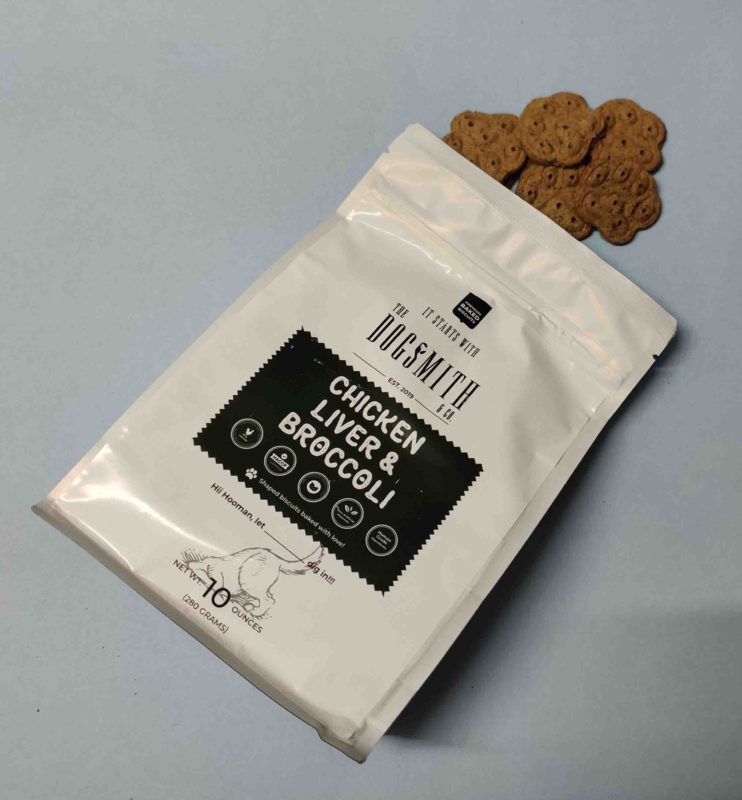 Dogsmith & Co Natural Chicken & Broccoli Dog Biscuits
