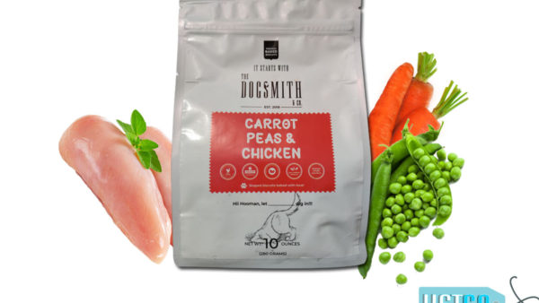 Dogsmith & Co Natural Chicken Carrot & Peas Dog Biscuits