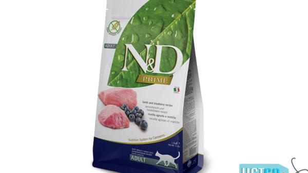 Farmina N&D Prime Grain Free Lamb & Blueberry Adult Cat Food