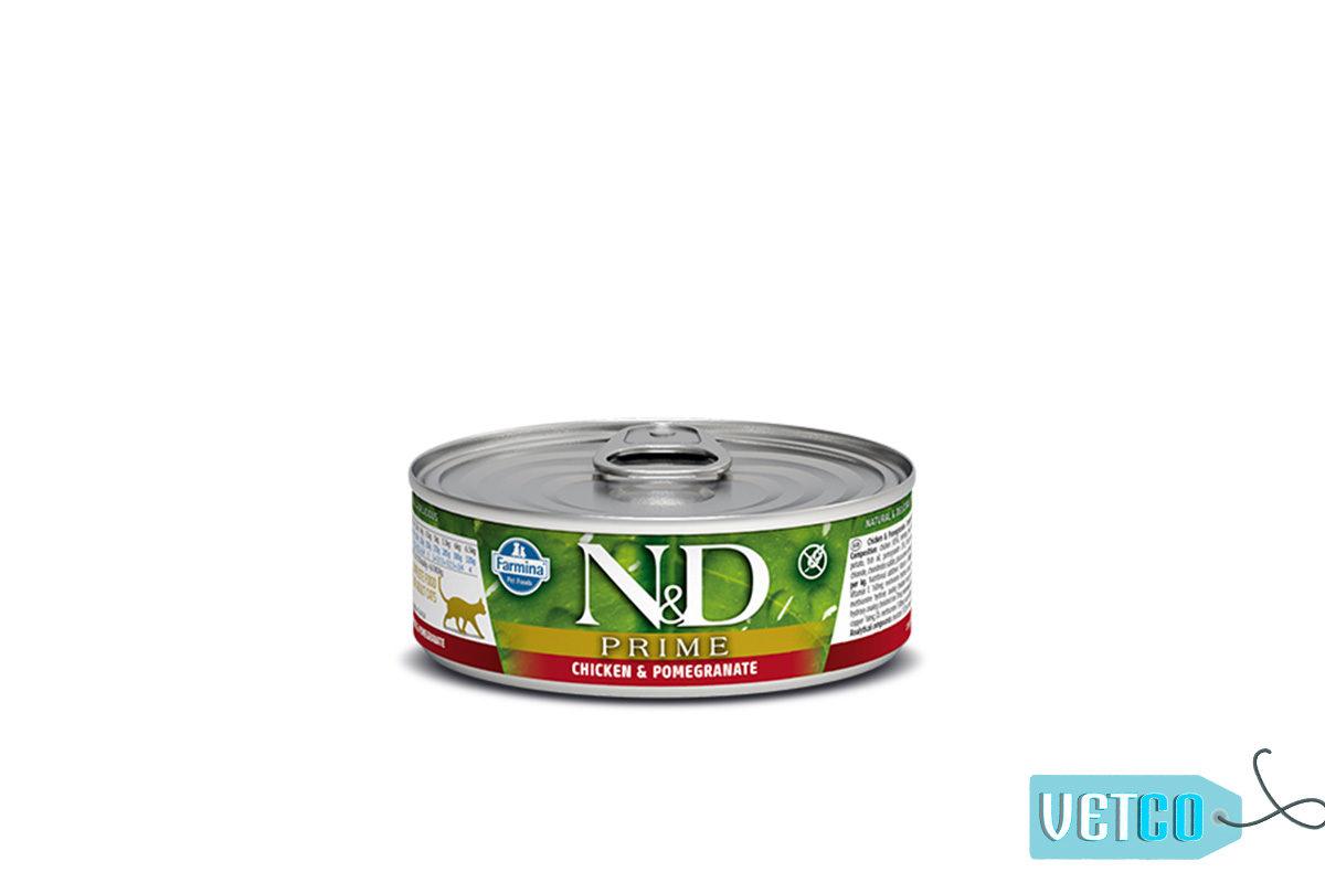 Farmina N&D Prime Chicken & Pomegranate Wet Cat Food