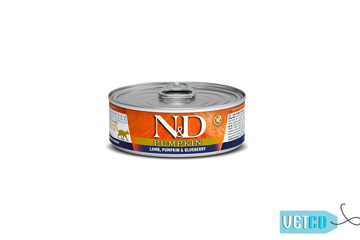 Farmina N&D Pumpkin Lamb & Blueberry Adult Cat Wet Food