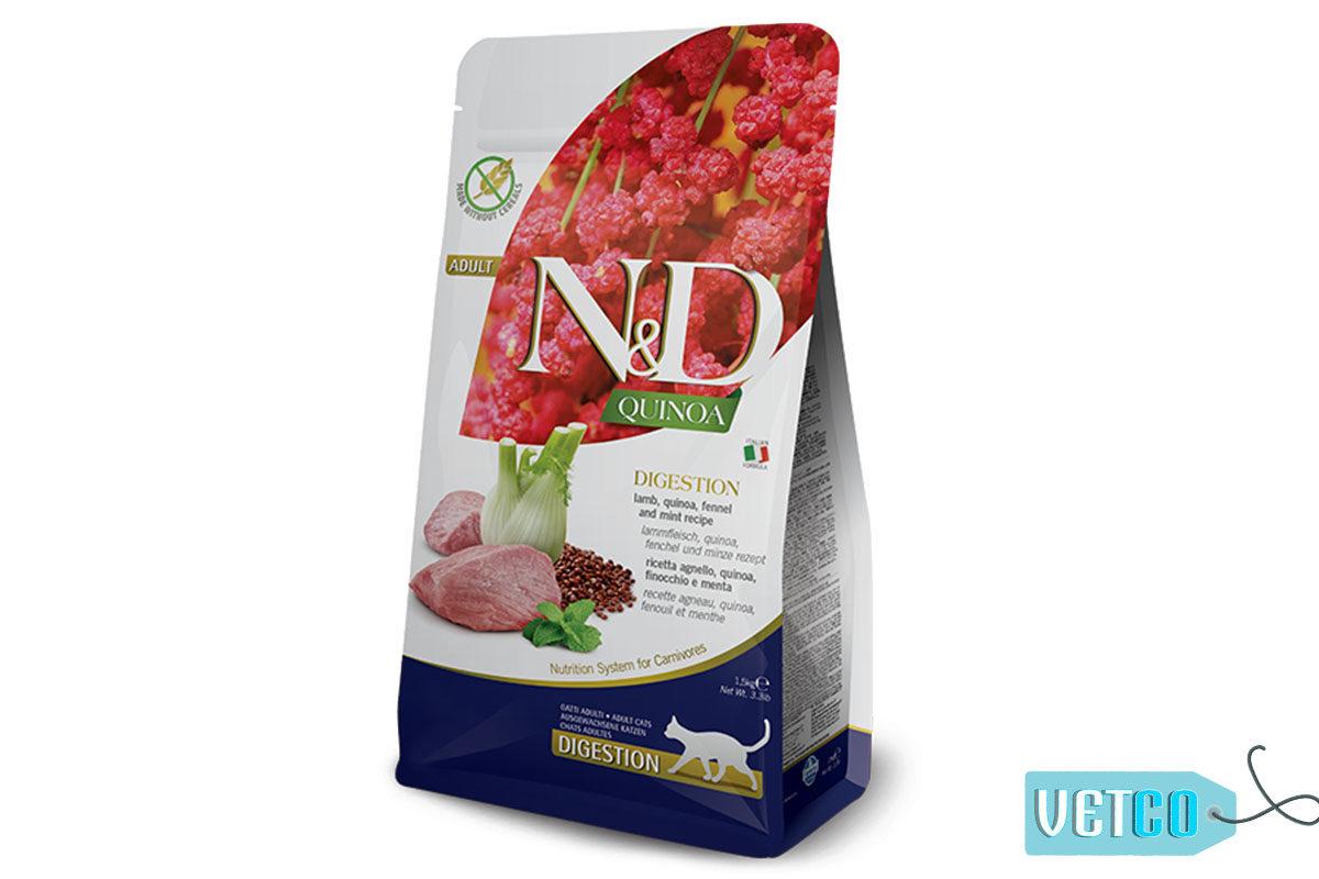 Farmina N&D Quinoa Digestion Adult Cat Dry Food