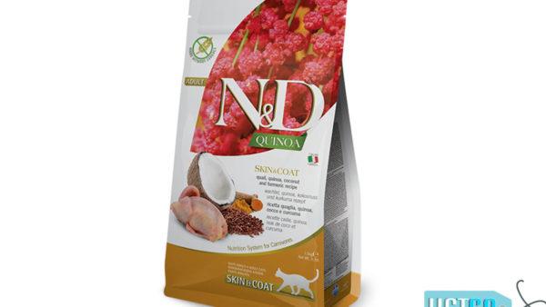Farmina N&D Quinoa Skin & Coat Adult Cat Dry Food