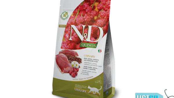 Farmina N&D Quinoa Urinary Adult Cat Dry Food