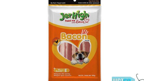 JerHigh Bacon Dog Treats, 100 gms