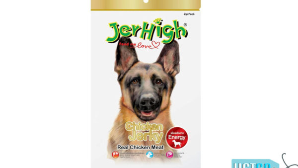 JerHigh Chicken Jerky Dog Treats with Real Chicken, 50 gms