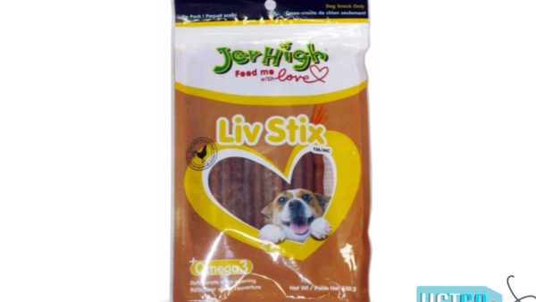 JerHigh Liv Stix Dog Treats, 100 gms