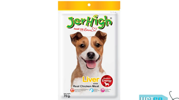 JerHigh Liver Stick Dog Treats with Real Chicken, 70 gms