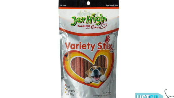 JerHigh Variety Stix Dog Treats with Real Chicken, 200 gms