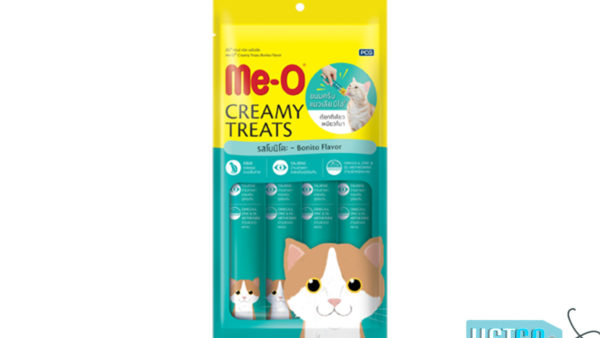 Me-O Creamy Cat Treats Bonito Flavour (Pack of 2)