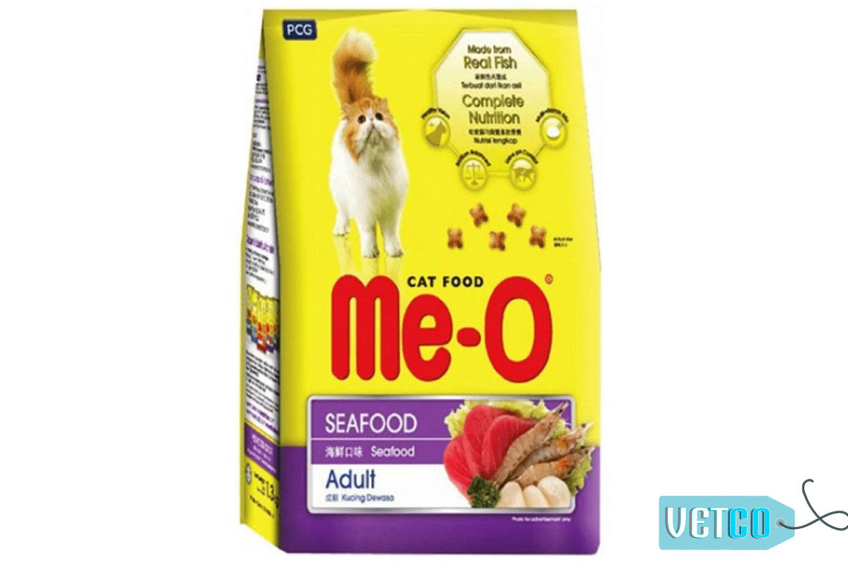 Me-O Seafood Adult Cat Dry Food