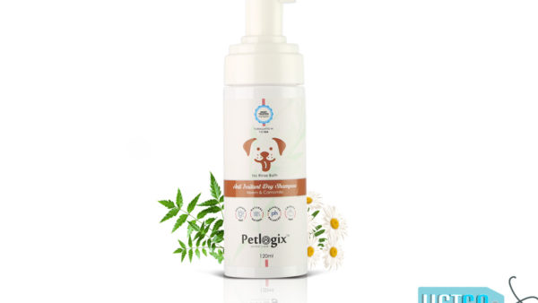 Petlogix Anti Irritant Dry Pet Shampoo, 120 ml