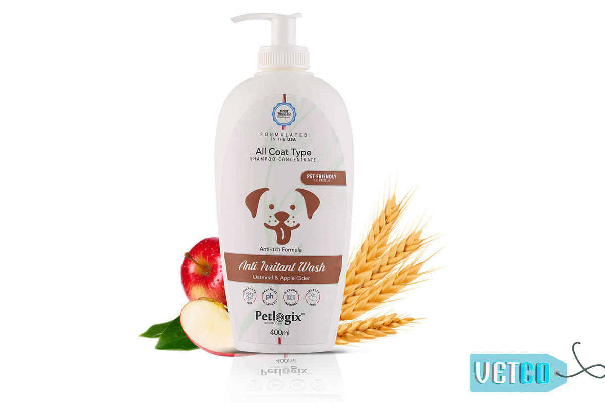 Petlogix Anti Irritant Pet Wash Shampoo
