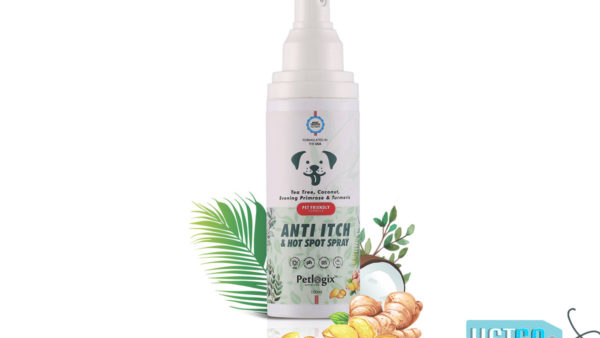 Petlogix Anti Itch & Hotspot Pet Spray, 100 ml