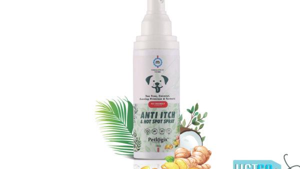 Petlogix Anti Irritant Waterless Dry Dog Shampoo, 120 ml