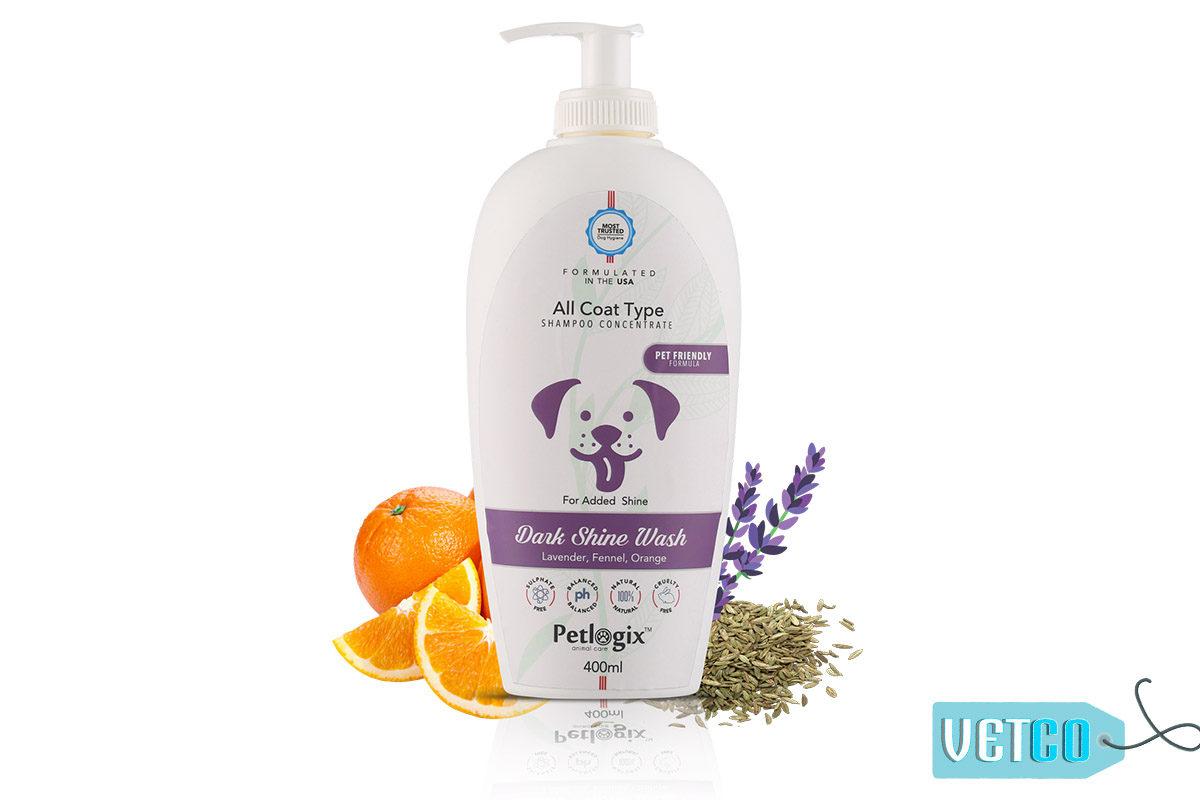 Petlogix Dark Shine Wash Shampoo