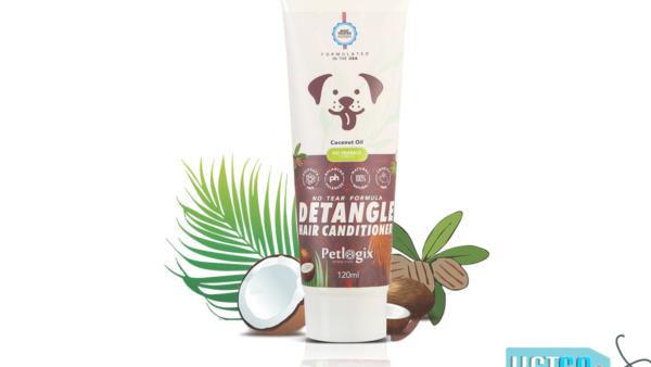 Petlogix Detangle Pet Conditioner, 120 ml