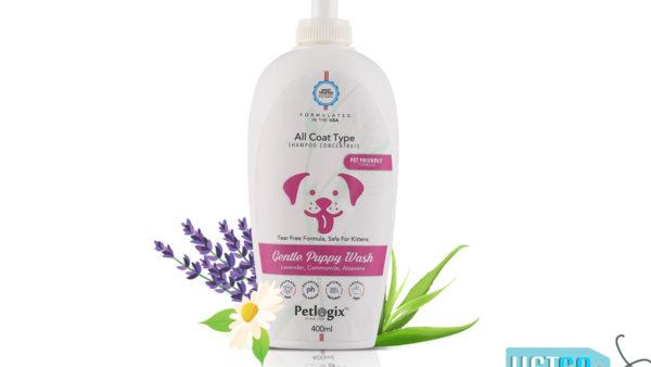 Petlogix Gentle Puppy Wash Shampoo, 400 ml