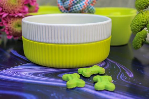 Petlogix Premium Anti-Slip Ceramic Dog & Cat Bowl