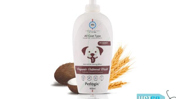 Petlogix Organic Oatmeal Wash Shampoo
