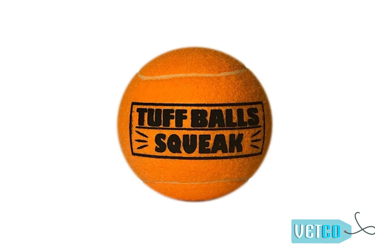 Petsport Giant Tuff Ball Squeak Dog Toy