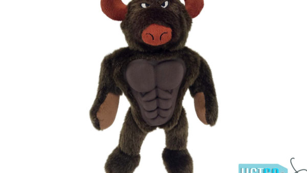 Petsport Six Packers Bull Dog Toy