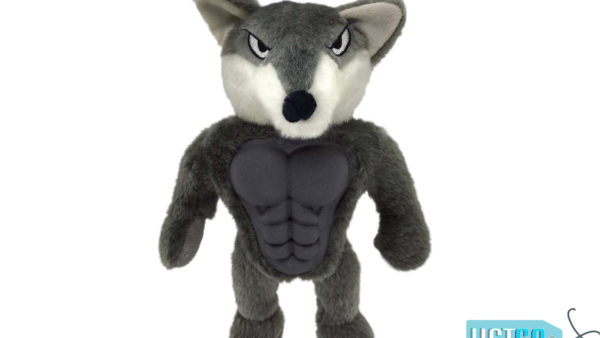 Petsport Six Packers Wolf Dog Toy