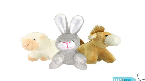 Petsport Tiny Tots Barn Buddies Plush Puppy Toy