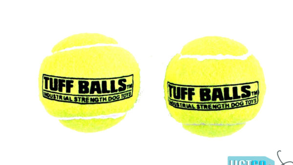 Petsport Tuff Ball Dog Toy 2 Pack - Yellow