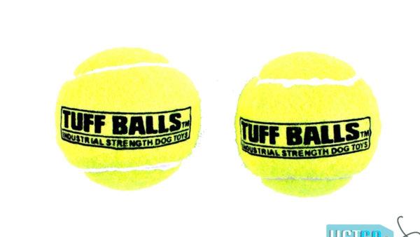 Petsport Tuff Ball Dog Toy 2 Pack - Yellow