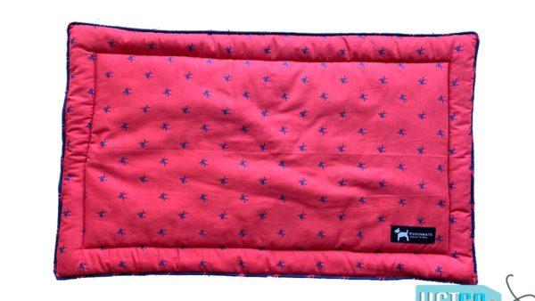PoochMate Mandarin Mat - Red & Navy