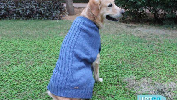 PoochMate Snug Bug Dog Sweater - Blue