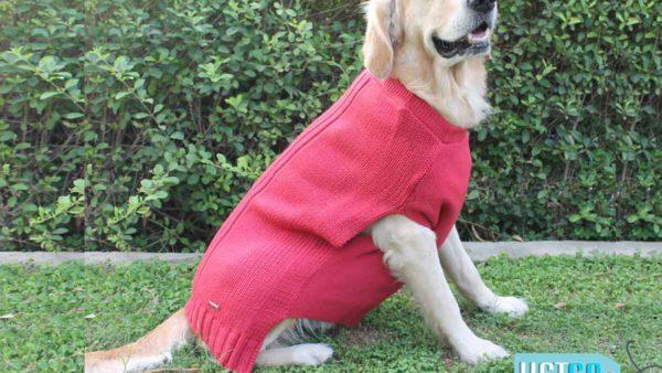PoochMate Snug Bug Dog Sweater - Rose