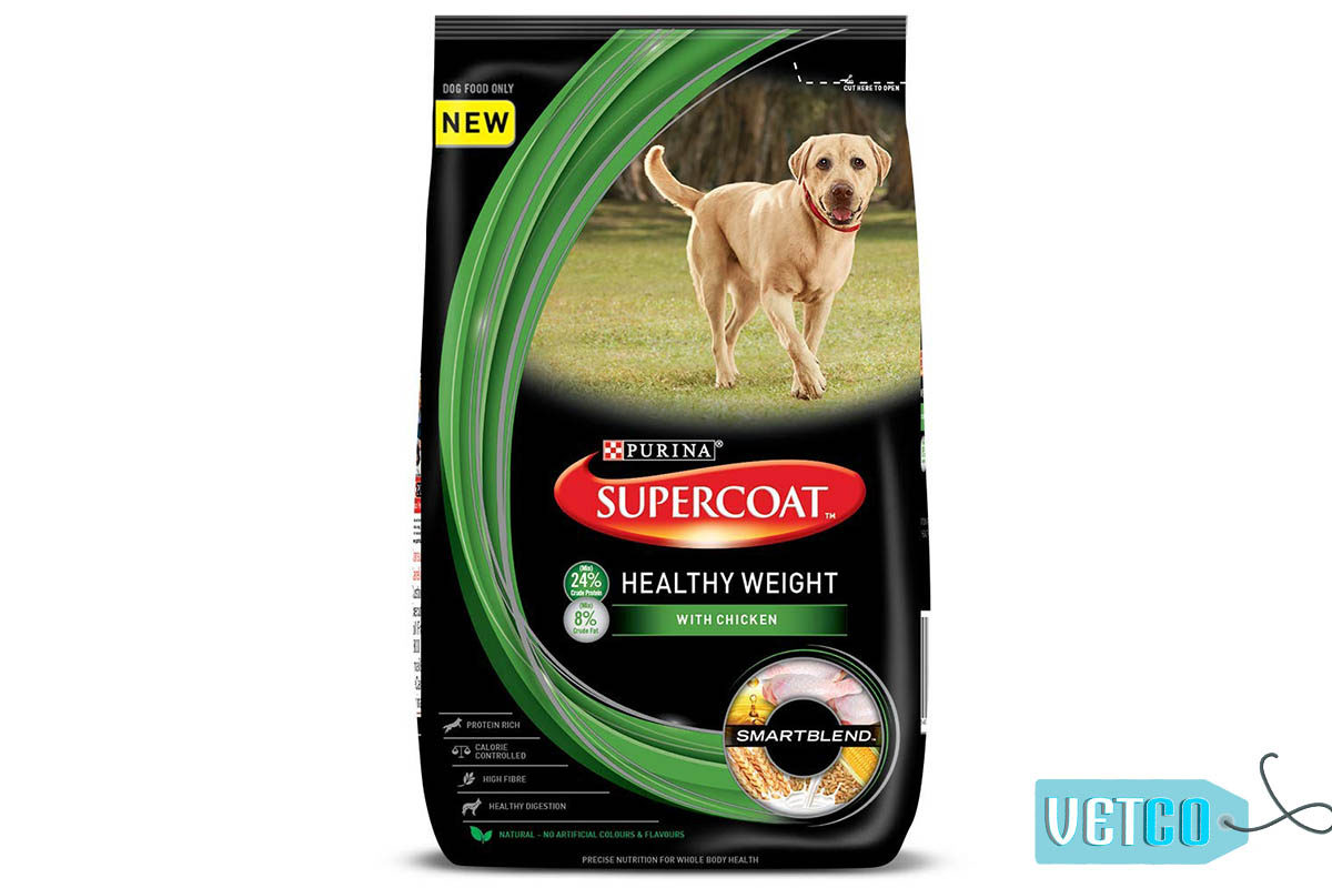 Purina Supercoat Healthy Weight Adult Dry Dog Food (All Breeds)